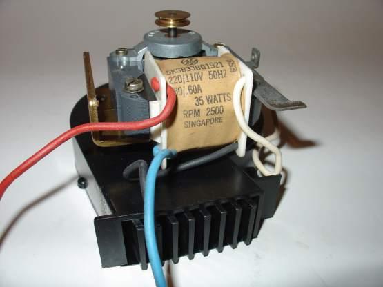 Motor Radiallüfter P35 P350 Motor Lüftereinheit neuwertig