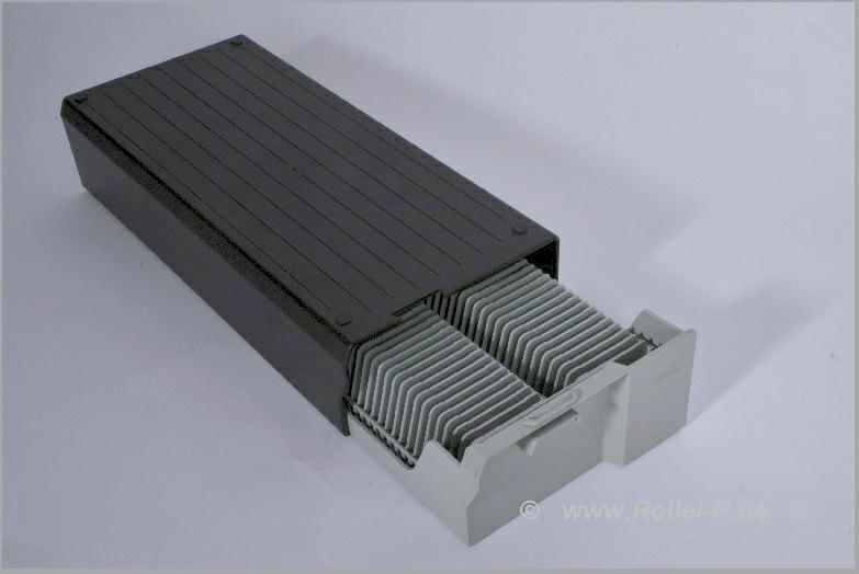 Rollei 4x CM55/50 Diamagazine Magazin für MSC twin Diaprojektor NEU  in 2 Boxen