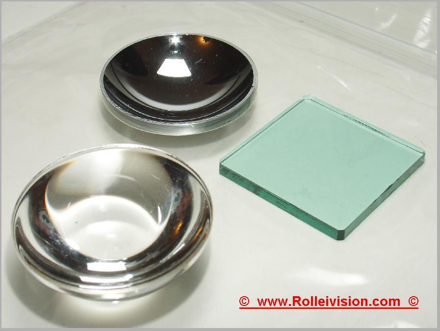 Lampenspiegel, Wärmefilter Kondensor Spiegel Filter -Set